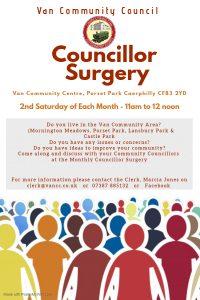 Councillor Surgery Poster