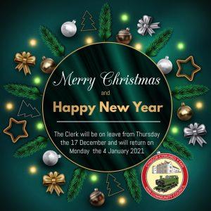 Christmas closing dates 2020